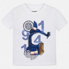 Mayoral 3045-62 Koszulka dla chłopaka kolor biały