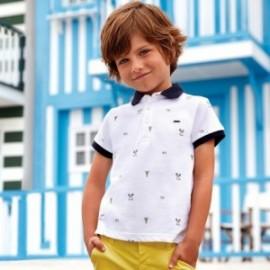 Mayoral 3112-43 Koszulka polo chłopięca kolor biały