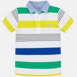 Mayoral 3114-16 Koszulka polo chłopięce kolor algi
