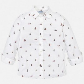 Mayoral 3137-78 Koszula chłopięca kolor biały
