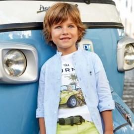 Mayoral 3140-67 Koszula chłopięca kolor błękitny