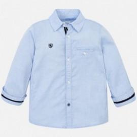 Mayoral 3142-67 Koszula chłopięca kolor błękitny