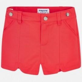 Mayoral 3213-55 Szorty dziewczęce kolor czerwony