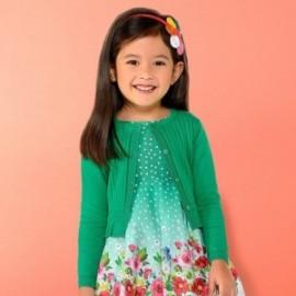 Mayoral 3303-82 Sweter dziewczęcy kolor zielony