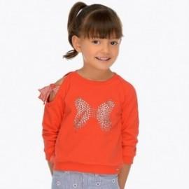 Mayoral 3401-81 Bluza dziewczęca kolor czerwony
