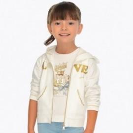 Mayoral 3411-17 Bluza dziewczęca kolor krem