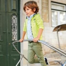 Mayoral 3518-92 Spodnie chłopięce kolor oliwka