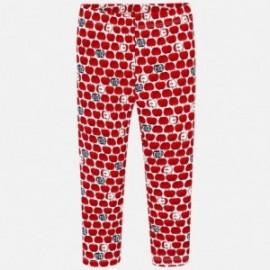 Mayoral 3702-72 Leginsy dziewczęce kolor czerwony