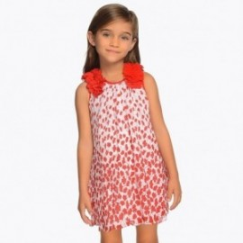 Mayoral 3915-47 Sukienka dziewczęca kolor Czerwony