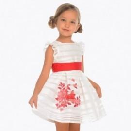 Mayoral 3916-95 Sukienka dziewczęca kolor czerwony