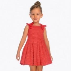 Mayoral 3917-42 Sukienka dziewczęca kolor czerwony