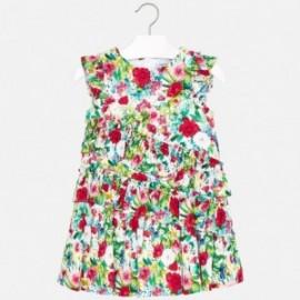 Mayoral 3931-10 Sukienka dziewczęca kolor zielony