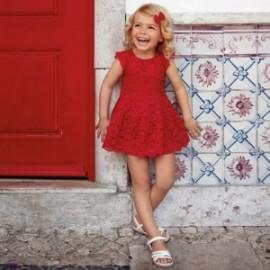 Mayoral 3934-77 Sukienka dziewczęca kolor czerwony