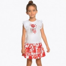 Mayoral 3956-95 Komplet dziewczęcy kolor czerwony