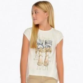 Mayoral 6009-27 Koszulka dziewczęca kolor złoty