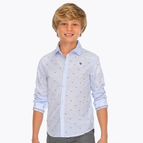 Mayoral 6130-15 Koszula chłopięca kolor błękitny