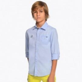 Mayoral 6133-89 Koszula chłopięca kolor błękitny