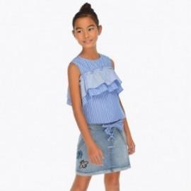 Mayoral 6903-91 Spódnica jeans dziewczęca kolor granat