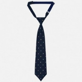 Mayoral 10608-64 Krawat chłopięcy kolor granat