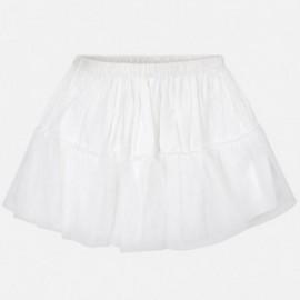 Mayoral 10617-1 halka dziewczęca kolor biały