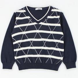 Dr.Kid DK565 sweterek chłopięcy kolor granat