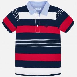 Mayoral 3114-17 Koszulka polo chłopięce kolor czerwony