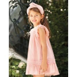 Abel & Lula 5014-5 Sukienka dziewczęca kolor krem