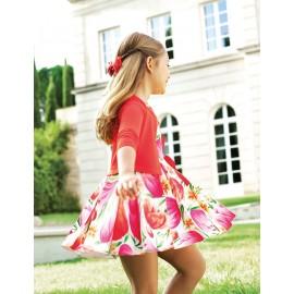 Abel & Lula 5033-2 Sukienka dziewczęca kolor róż
