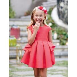 Abel & Lula 5035-2 Sukienka dziewczęca kolor czerwony