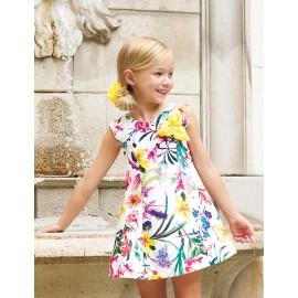 Abel & Lula 5045-6 Sukienka dziewczęca kolor żółty