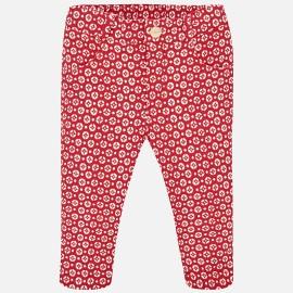 Mayoral 2578-38 Spodnie dziewczęce kolor czerwony