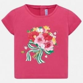 Mayoral 1014-10 Koszulka dziewczęca kolor fuksja