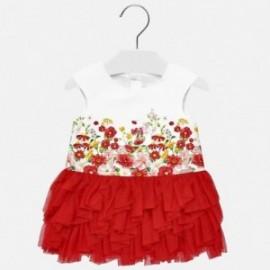 Mayoral 1920-94 Sukienka dziewczęca kolor czerwony