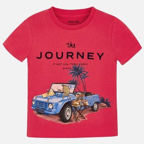 Mayoral 3027-83 Koszulka chłopięca kolor jagoda