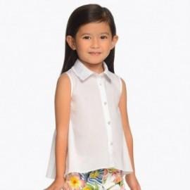 Mayoral 3107-48 Bluzka dziewczęca kolor biały