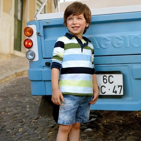 Mayoral 3226-5 Bermudy chłopięce kolor jeans