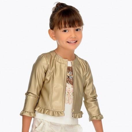 Mayoral 3404-51 Kurtka dziewczęca kolor złoty