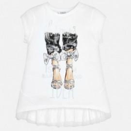 Mayoral 6009-29 Koszulka dziewczęca kolor srebrny