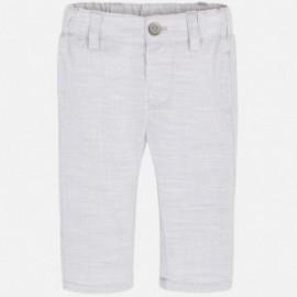 Mayoral 1510-34 Spodnie chłopięce kolor srebrny