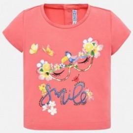 Mayoral 1014-12 Koszulka dziewczęca kolor róż