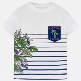Mayoral 1025-71 Koszulka chłopięca kolor krem