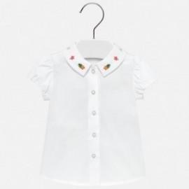 Mayoral 1113-45 Bluzka dziewczęca kolor biały