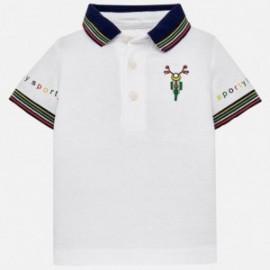 Mayoral 1123-93 Koszulka chłopięca kolor biały