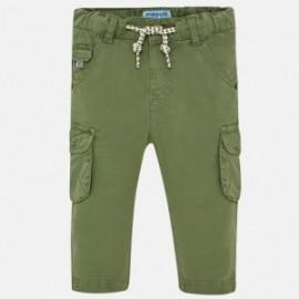 Mayoral 1527-75 Spodnie chłopięce kolor oliwka