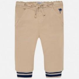 Mayoral 1528-94 Spodnie chłopięce kolor beż