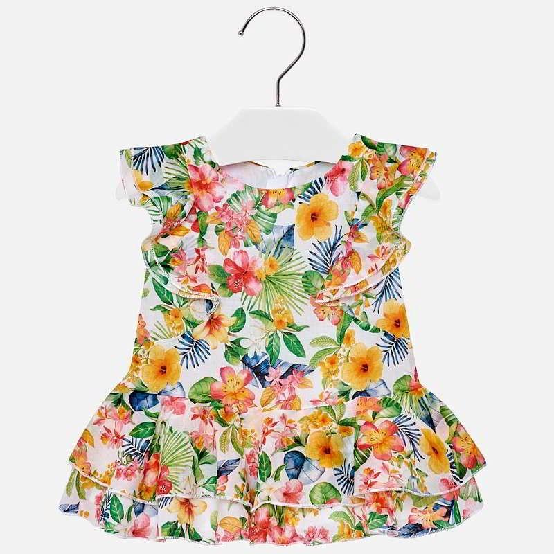Mayoral 1940-6 Sukienka dziewczęca kolor geranium