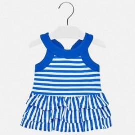 Mayoral 1945-85 Sukienka dziewczęca kolor niebieski