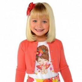 Mayoral 3008-90 Koszulka dziewczęca kolor biały