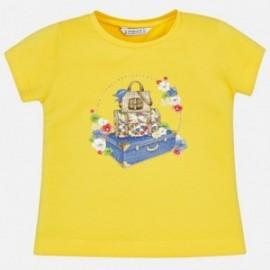 Mayoral 3015-62 Koszulka dziewczęca kolor żółty