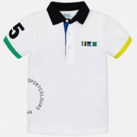 Mayoral 3111-11 Koszulka chłopięca kolor biały